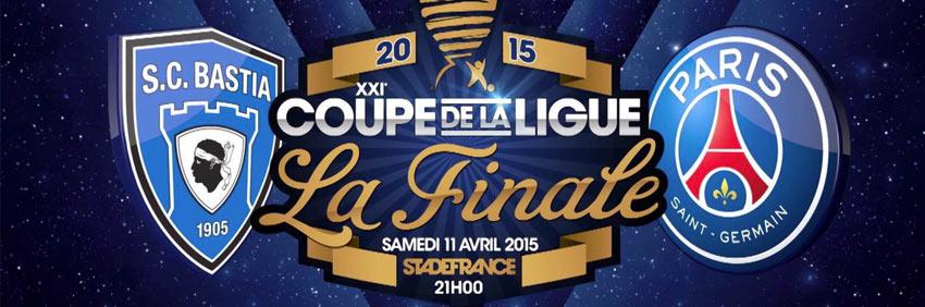 Finale Coupe de la Ligue SC Bastia