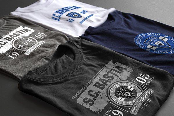 SC Bastia Merchandising 2012