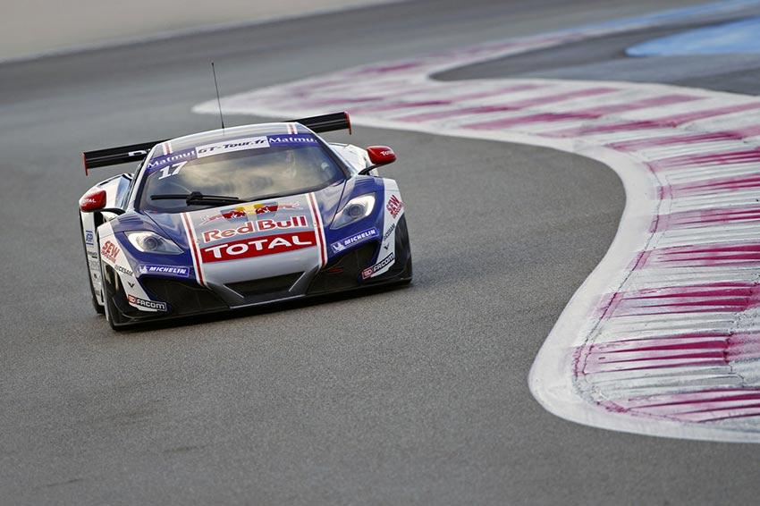 Sébastien Loeb Racing McLaren GT3 Redbull