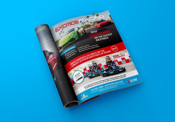 Exotics Racing Ad
